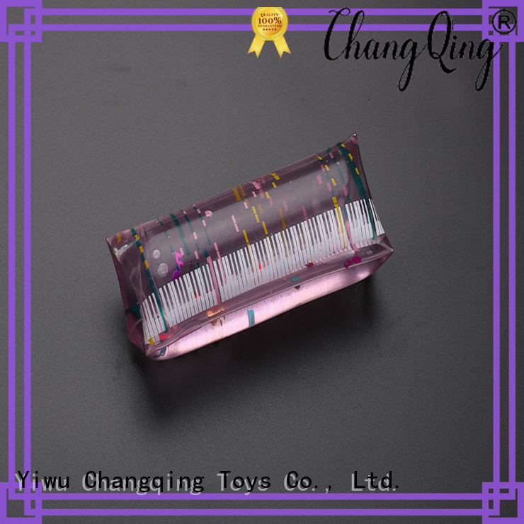 certificated glitter water tube toy design for adults
