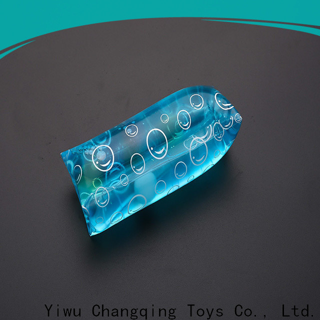 Changqing Toys eco-friendly glitter water tube toy customized for students